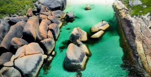 Elephant Rocks, Australia