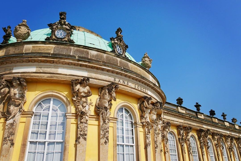 Schloss Sanssouci, Sanssouci Palace, Potsdam, Germany