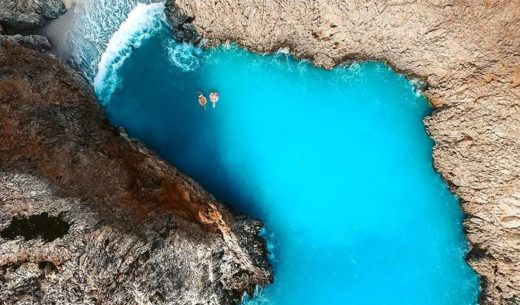 Seitan Limania Beach, Crete, Greece