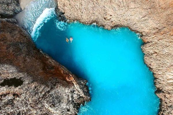 Seitan Limania Beach, Crete, Greece