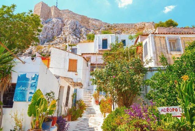 Anafiotika, Athens, Greece