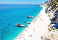 Egremni Beach, Lefkada, Greece