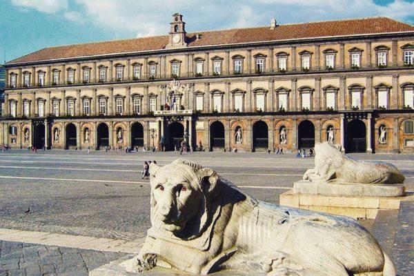 Palazzo Reale di Napoli, Royal Palace of Naple, Italy