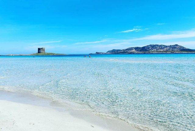 La Pelosa Beach, Stintino, Sardinia, Italy