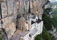 Madonna della Corona Sanctuary, Italy