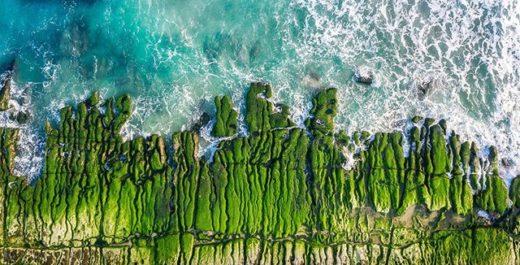 Laomei Green Reef, Shimen, Taiwan
