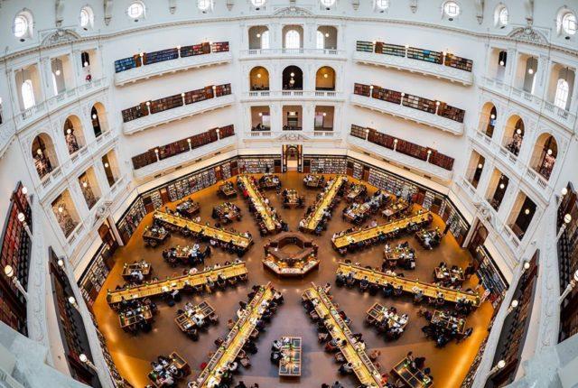 State Library Victoria, Melbourne, Australia