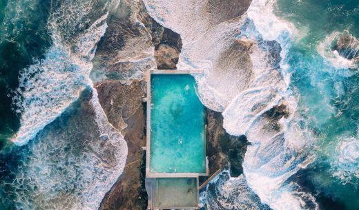Mona Vale Ocean Rockpool, Sidney, Australia