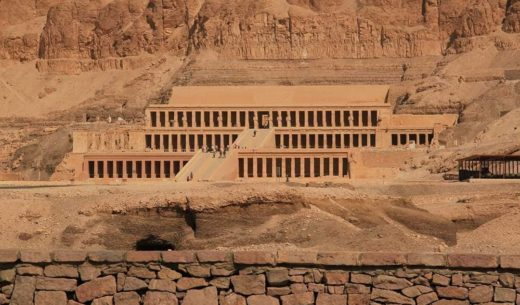 Mortuary Temple of Hatshepsut, Luxor, Egypt