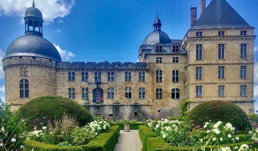 Chateau de Hautefort, Dordogne, France