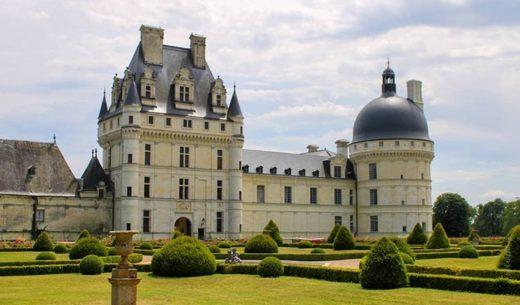 Chateau de Valencay, Loire, France