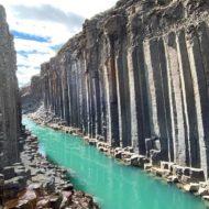 Studlagil Canyon, Egilsstadir, Iceland