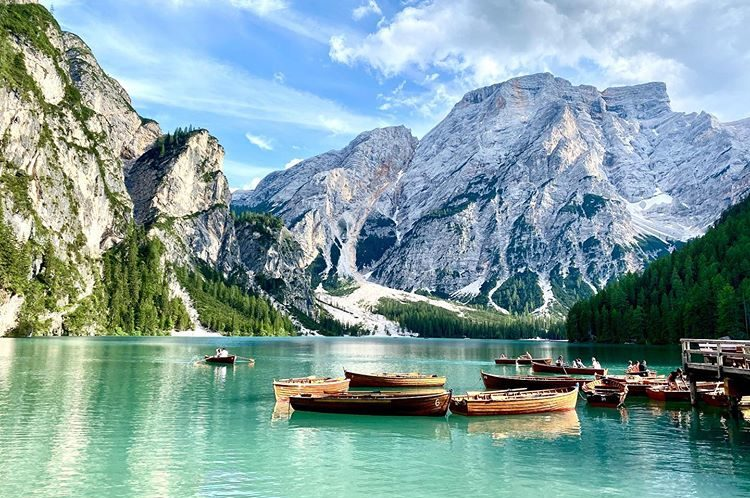 Lago di Braies, South Tyrol, Italy