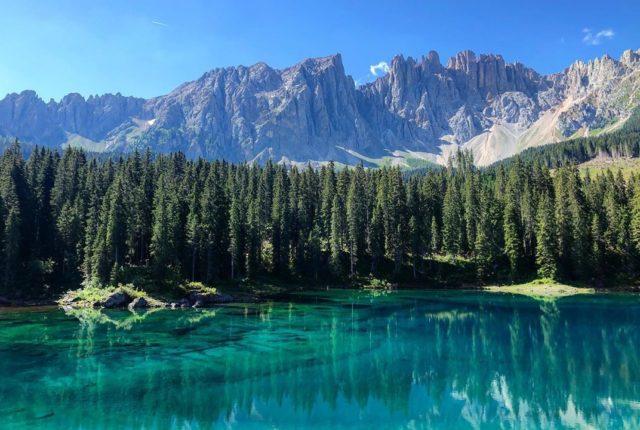 Lago di Carezza, Dolomiti, Veneto, Italy