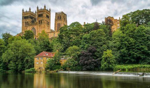 Durham Cathedral, Durham Castle, England, United Kingdom