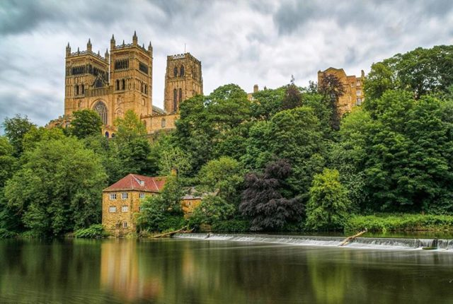 Durham Cathedral, Durham Castle, England, United Kingdom