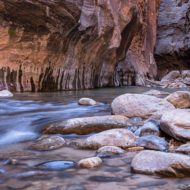 Zion National Park, The Narrows, Utah, United States