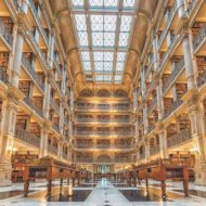 George Peabody Library, Baltimore, Maryland, United States