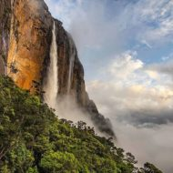 Canaima National Park, Guiana Shield, Auyantepui, Angel Falls, Venezuela, World Heritage