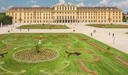 Schönbrunn Palace, Vienna, Austria, World Heritage