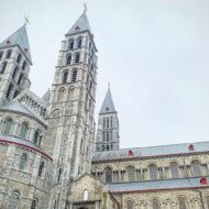 Notre-Dame Cathedral in Tournai, Belgium, World Heritage