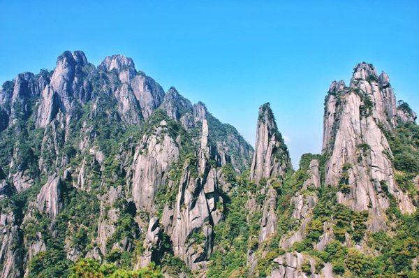 Mount Sanqingshan National Park, Jiangxi, China, World Heritage