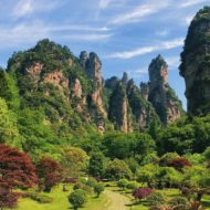 Wulingyuan, Zhangjiajie National Forest Park, Hunan, China, World Heritage