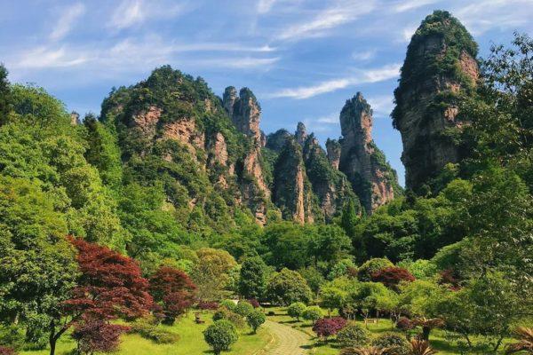 Wulingyuan, Zhangjiajie National Forest Park, Hunan, China, World Heritage