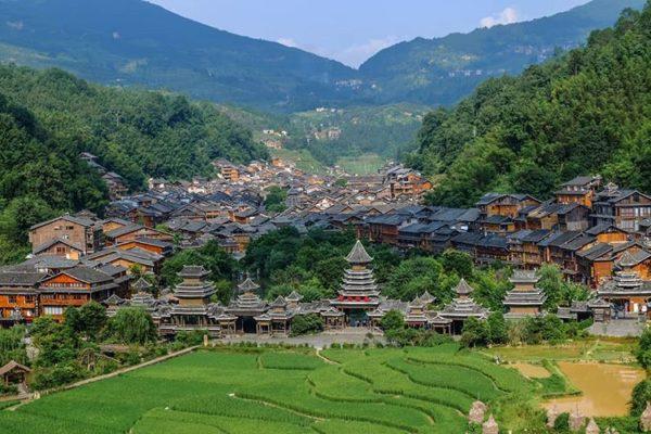 Zhaoxing DongZhai, Guizhou, China
