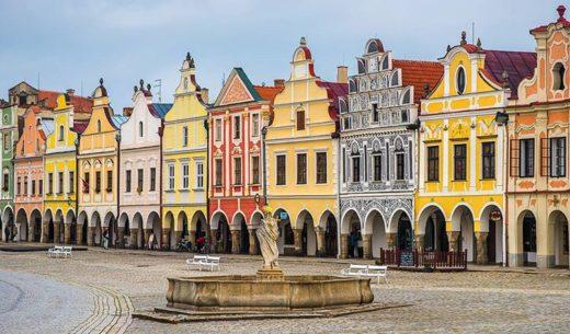 Historic Centre of Telc, Czech, World Heritage