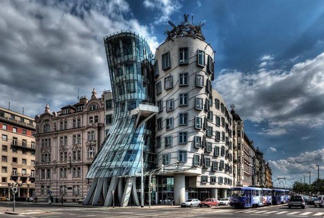 Dancing House, Tančící dům, Prague, Czech Republic