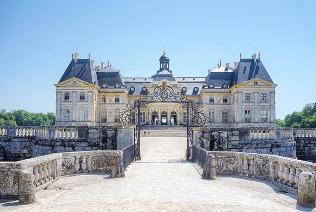 Chateau de Vaux-le-Vicomte, Maincy, France, World Heritage