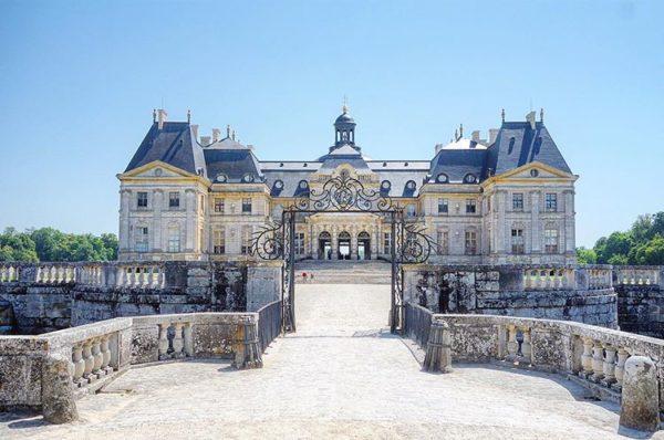 Chateau de Vaux-le-Vicomte, Maincy, France, World Heritage