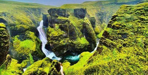 Fjadrargljufur Canyon, Iceland
