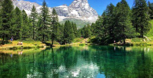 Lago Blu, Aosta, Italy