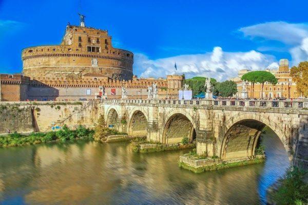 Castel Sant'Angelo, Rome, Italy