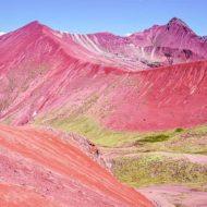 Valle Rojo, Red Valley, Cusco, Peru