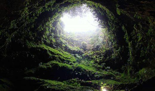 Algar do Carvao, Terceira Island, Azores, Portugal