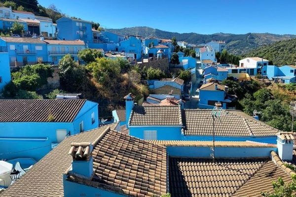 Juzcar, Blue Smurf Village, Andalusia, Spain