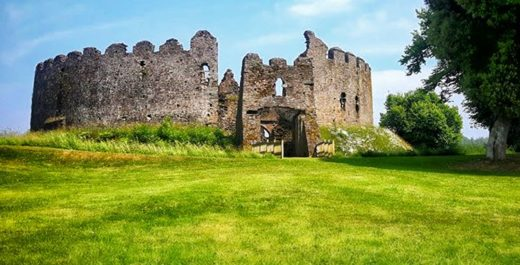 Restormel Castle, Cornwall, England, United Kingdom