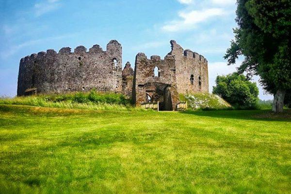 Restormel Castle, Cornwall, England, United Kingdom