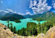 North Cascades National Park, Diablo Lake, Washington, United States