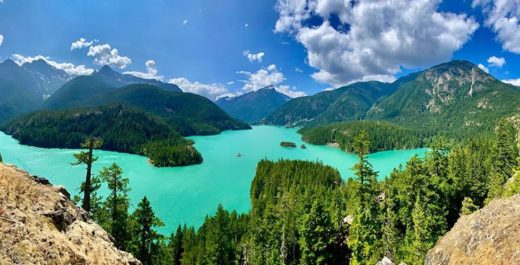 North Cascades National Park, Diablo Lake, Washington, United States
