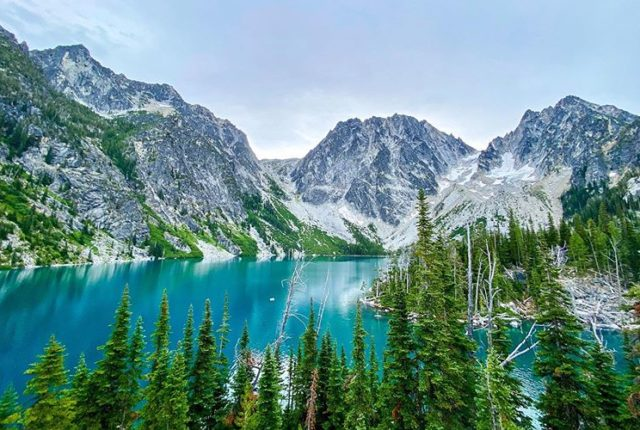 Colchuck Lake, Leavenworth, The Enchantments, Washington, United States