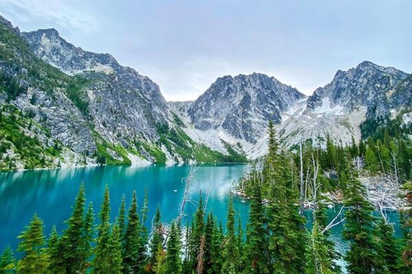 Colchuck Lake, Leavenworth, The Enchantments, Washington, United States