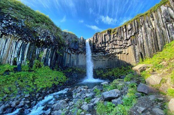 Svartifoss, Skaftafell, Iceland