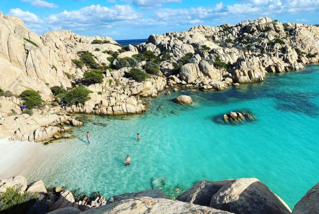 Cala Coticcio Beach, Caprera, Sardinia, Italy