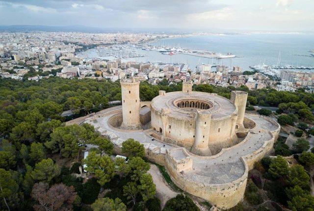 Castell de Bellver, Majorca, Spain