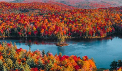 Autumn Berkshires, Massachusetts, United States
