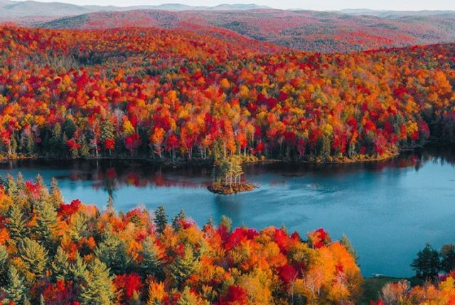 Autumn Berkshires, Massachusetts, United States
